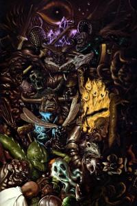 Couverture du Bestiaire Monstrueux