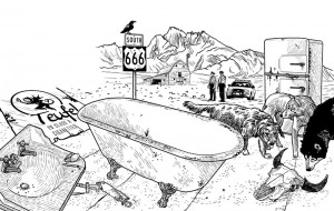 Illustration d'Americana par John Grümph
