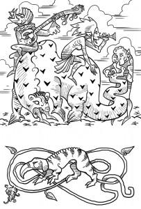Illustration du Compagnon d'Oltréé ! par John Grümph